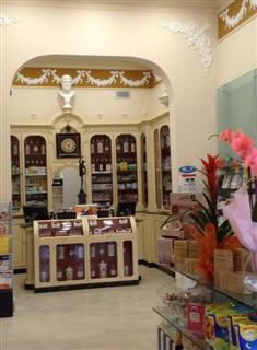 mobile antico farmacia san jacopo livorno