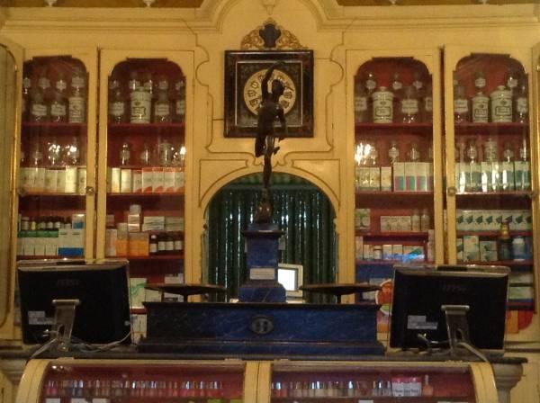 interno farmacia san jacopo livorno prima del restyling